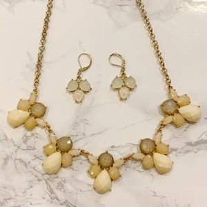 LC Lauren Conrad Necklace and Earring Set